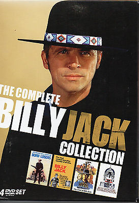 The Billy Jack Collection (DVD, 2009, 4-Disc Set) VG