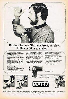 Eumig Viennette Super 8 Kamera (11) - Original Anzeige von 1966