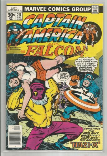 CAPTAIN AMERICA # 211 * MARVEL COMICS * 1977 * JACK KIRBY story & art