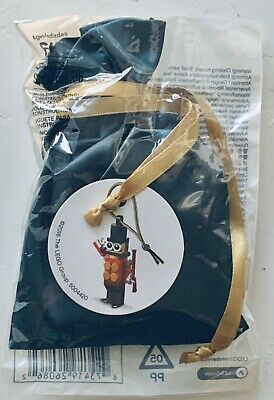 LEGO Toy Soldier Christmas Tree Ornament 6160751 5004420 Rare Retired 2016 NEW