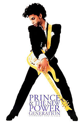 Prince * & The New Power Generation* Diamonds & Pearls Promo Large Format 24x36