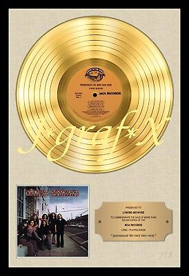 LYNYRD SKYNYRD - GOLD RECORD - POSTER REPRODUCTION - REALLY COOL ARTWORK!!!