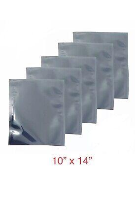 10 Pcs 10 X 14 Open Top Anti Static Shielding Bags