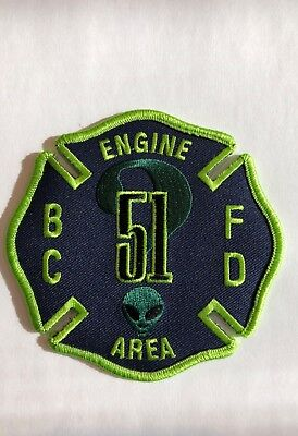 Baltimore City Fire Dept - MD - Engine 51 NEW Patch