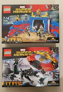 LEGO 76084 +76088 THOR  Ragnarok Marvel Super Heroes BRAND NEW Hamilton Brisbane North East Preview