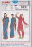 From UK Sewing Pattern - Indian Sari,Skirt &Top 8 - 20 # 7701