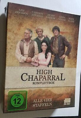 Alta Chaparral Serie Completa - Temporadas 1,2,3,4-26 DVD Caja Set - New...