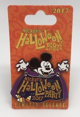 Disneyland Mickey's Halloween Party Vampire Mickey Limited Release Pin (Mickey Mouse Halloween Party Disneyland)