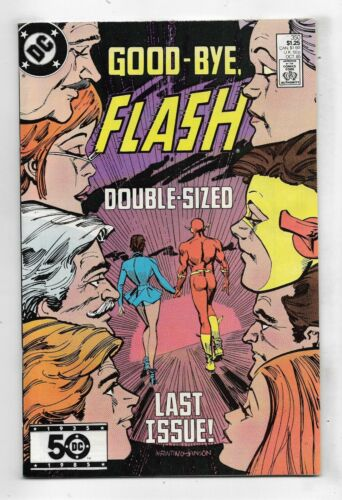 Flash 1985 #350 Fine/Very Fine
