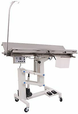 Veterinary Surgical Operating Table Ft-828h Electric Lift Heat Controlled V-top