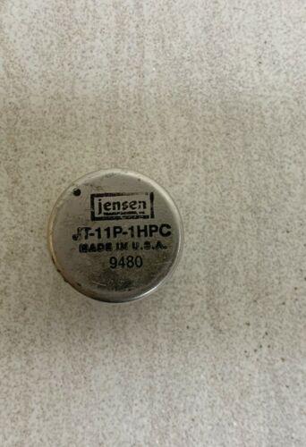 JT-11P-1 PLine Input Transformer-1:1 High-Impedance Balanced, Jensen JT-11P-1HPC