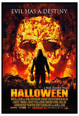 Horror: Rob ZOMBIE's  * Halloween * Movie Poster 2007  13x19](Rob Zombie's Halloween Movies)