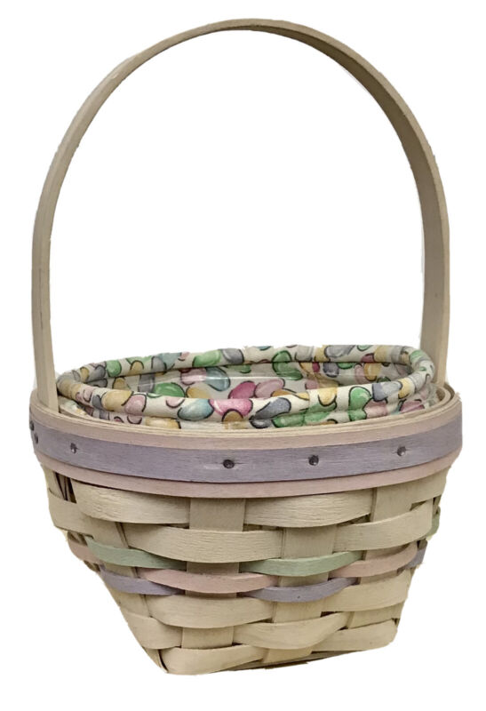 Longaberger Jelly Bean Small Easter Basket Combo 2000