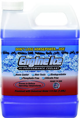 ENGINE ICE 1/2 GAL HIGH PERFORMANCE COOLANT NON-TOXIC BIODEGRADABLE High Performance Coolant