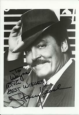 Stacy Keach - Genuine Autographed 5x7 Signed Photo