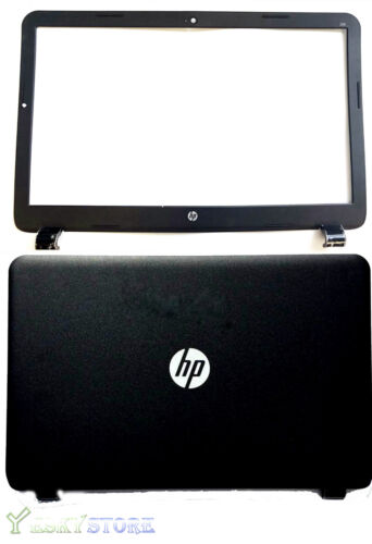 """New HP 15G 15R 15-G040CA 15.6"""" LCD Back Cover & Front Bezel Cover 749641-001 US"""