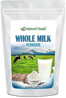 Powdered Whole Milk - Shelf Stable Dry Milk Powder - Dried For Emergency Long...