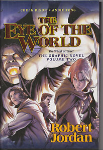 Eye of the World Vol. 2 by Robert Jordan /  Hardcover w DJ Graphic Novel