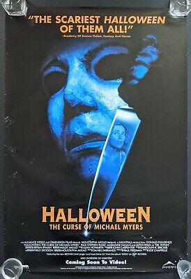 Halloween The Curse of Michael Myers 1995 Original O/S Movie Poster 27x40 Rolled