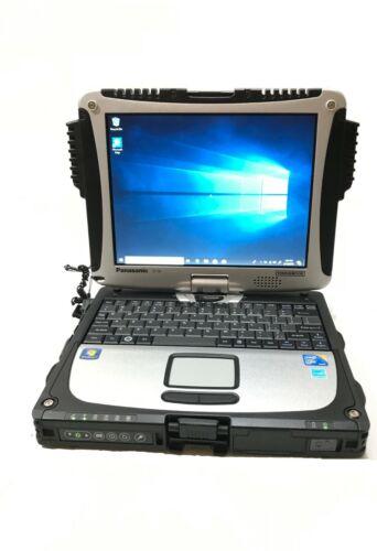 Panasonic Toughbook CF-19 Core i5 U540 1.2 GHz 6GB RAM 256GB SSD Win 10 Pro