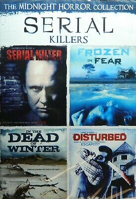4 SERIAL KILLERS Movies DISTURBED IN the DEAD of WINTER FROZEN in FEAR Sealed](Movies Of Serial Killers)