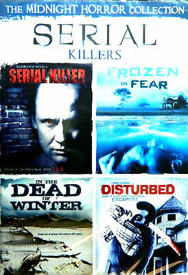 SERIAL KILLERS DISTURBED IN the DEAD of WINTER FROZEN in FEAR  VERY GOOD - Movies Of Serial Killers