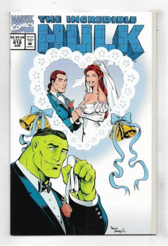 Incredible Hulk 1994 #418 Very Fine/Near Mint