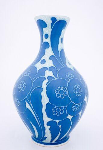 Lovely Vase - Josef Ekberg - Sgrafitto - Gustavsberg 1918 - Art Noveau