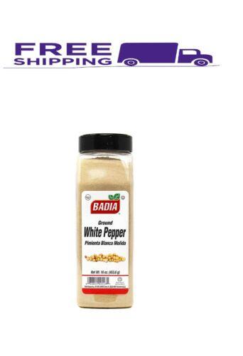 badia white pepper ground, 16-ounce 1 pound