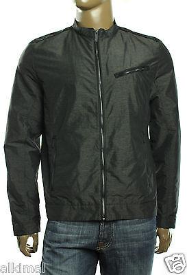 New Mens Calvin Klein Sportswear Space Dye Moto Full Zip Lightweight Jacket XL ()