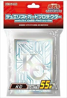 Konami Official Yugioh Card Sleeves, KC Kaiba Corp (55 Sleeves) Sealed Japanese