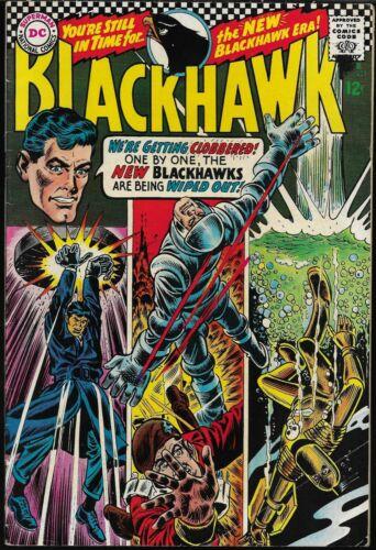 BLACKHAWK #231-240 (DC Comics, 1967-1968) - 10 consecutive issues