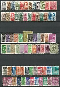 Germany Allied Occ. 1945-1956 - Mint/Used Collections Variations All Sectors