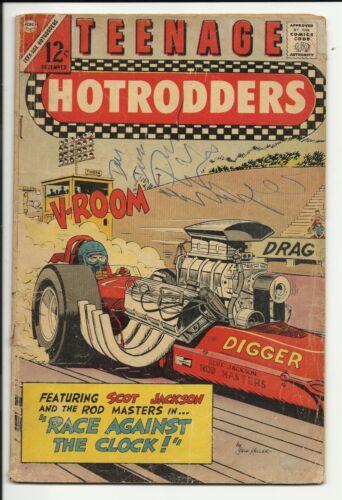 Teenage Hotrodders #21 - Charlton sports comic - GD 2.0