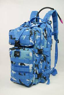 NEW Heavy-Duty Multi-Functional CAMEL Sports Backpack, BLUE CAMO Marangaroo Wanneroo Area Preview