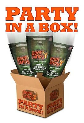 Deer Candy Party Box (4 - 10 pound bags) Deer Attractant - Better than rice