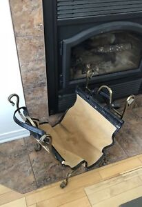Fire place log holder&transporter