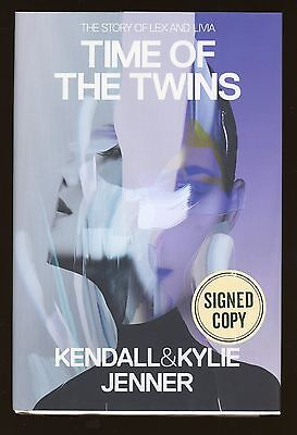 Kendall   Kylie Jenner   Time Of The Twins   Signed Book Auto