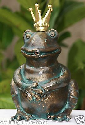 Gargoyle Frog Prince Bronze Figure Frog Frogs Figure Bronze New RO-88881