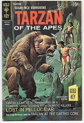 Tarzan Of The Apes #180 VG/F 1968 Gold Key comics ERB Pellucidar Burroughs
