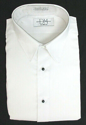 haels Tuxedo Dress Shirt Laydown Collar Prom Wedding S 30/31 (Tuxedo Dress Shirt)