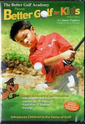 Better Golf For Kids - Vol. 1 (DVD, 2009)   LAST