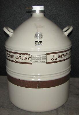 Egg Ortec Liquid Nitrogen Tank Ln2 Dewar - Al-30 30 Liter B6