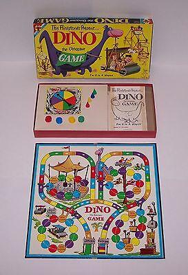 Dino The Dinosaur (The Flintstones Present Dino the Dinosaur Board Game Vintage)
