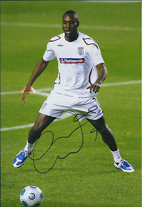 Carlton-COLE-Signed-Autograph-12x8-Photo-AFTAL-COA-England-West-Ham-Rare