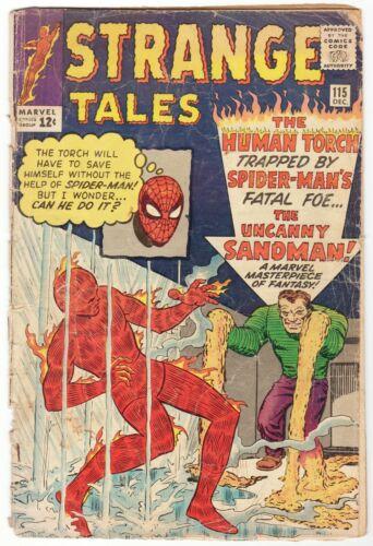 Strange Tales #115 Dr. Strange Origin Scans Ditko Human Torch
