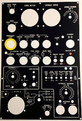 Hitachi Seiki Cnc Keypad Membrane Control Panel - Hs1019