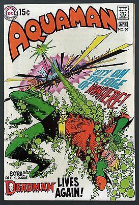 Aquaman (1962) #50 FN+ (6.5) Deadman back up story with Neal Adams art