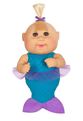 "Cabbage Patch Kids Cuties Doll: 9"" Fantasy Friends Collection - Jewel Mermaid"