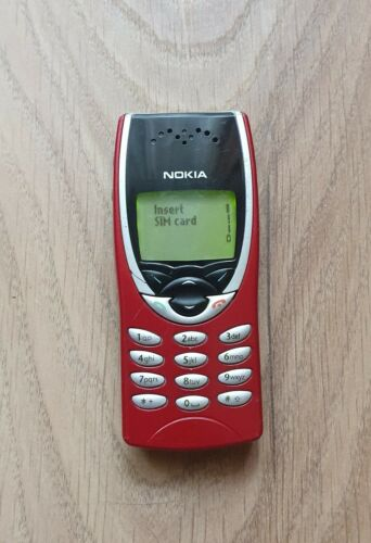 Nokia 8210 - Red - Cellular Phone